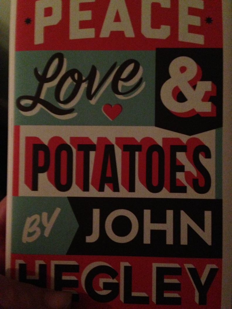 I bought a copy of John Hegley's new book at the gig.