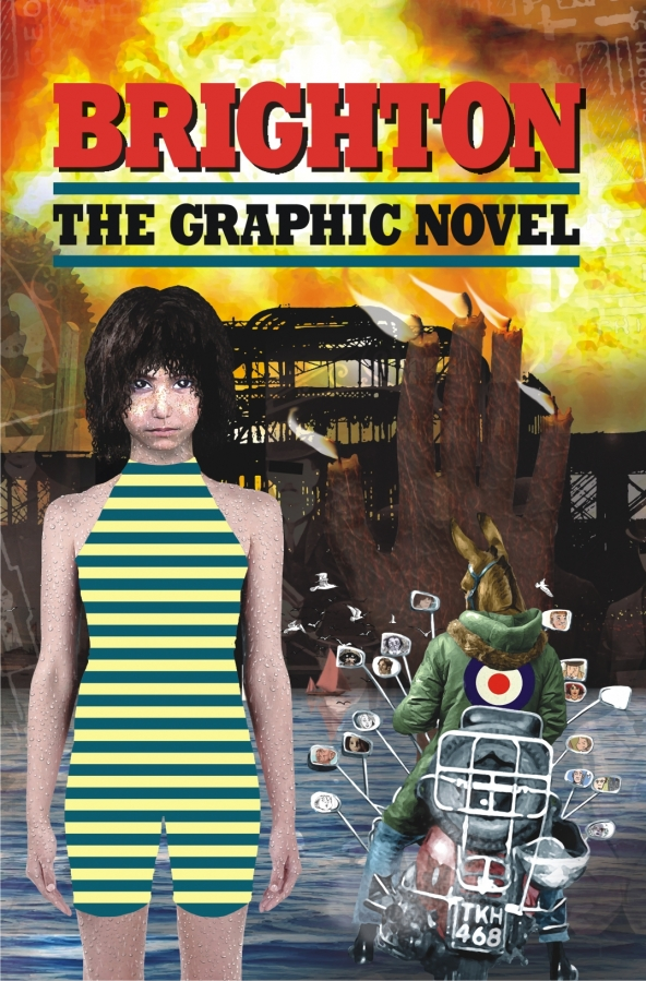 Brighton - The Graphic Novel. Cover by Brian Talbot